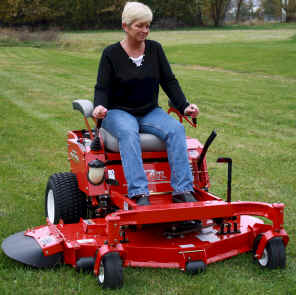 love mowing lawn fun mower
