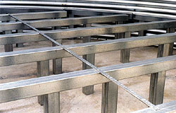 Shivvers Steel Floor Supports Are Ideal For Use Under Drying And Storage  Floors. Rails Are Made With A Channel Opening On The Underside That Accepts  The ...