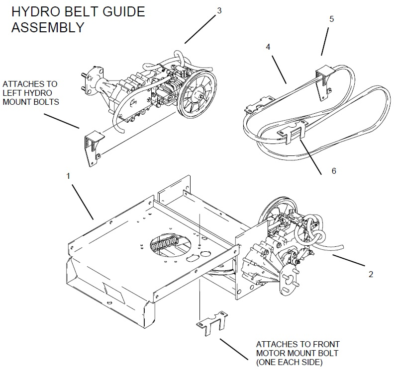 Dimensions Of Hydo Rail Manual Guide